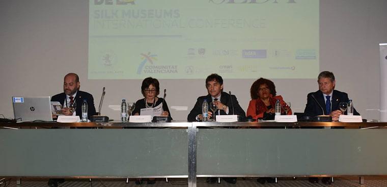Gran éxito en la primera jornada del I Congreso Internacional de Museos de la Seda