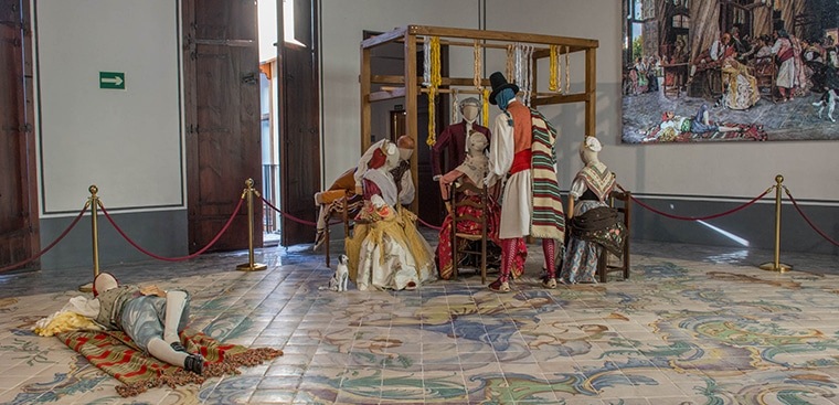 """Nueva exposición """"Los mercaderes de la seda en la Lonja de Valencia»"""
