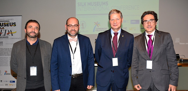 El Museo de la Seda de Valencia, referente mundial gracias al I Congreso Internacional de Museos de la Seda