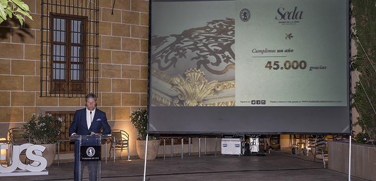 Celebración del primer aniversario de Museo de la Seda Valencia