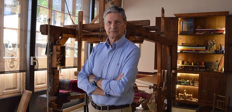 Vicente Genovés hace balance en el primer aniversario del Museo de la Seda de València