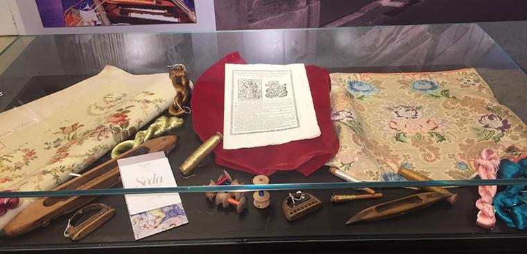 """Museo de la Seda Valencia, presente en la Exposición """"Patrimonio en Común"""", en El Corte Inglés de Colón"""