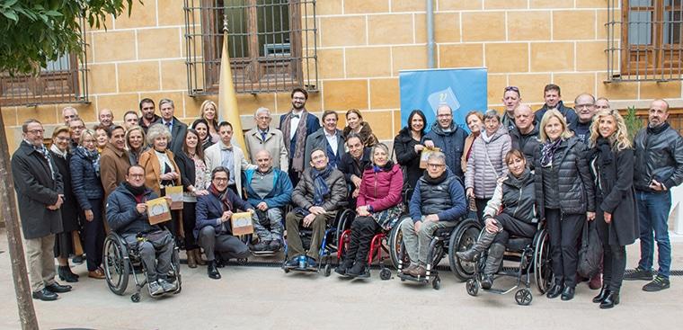 Exaltació de la Bandera de la Superació i la Discapacitat