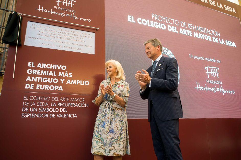 Presentación del Colegio del Arte Mayor de la Seda de Valencia
